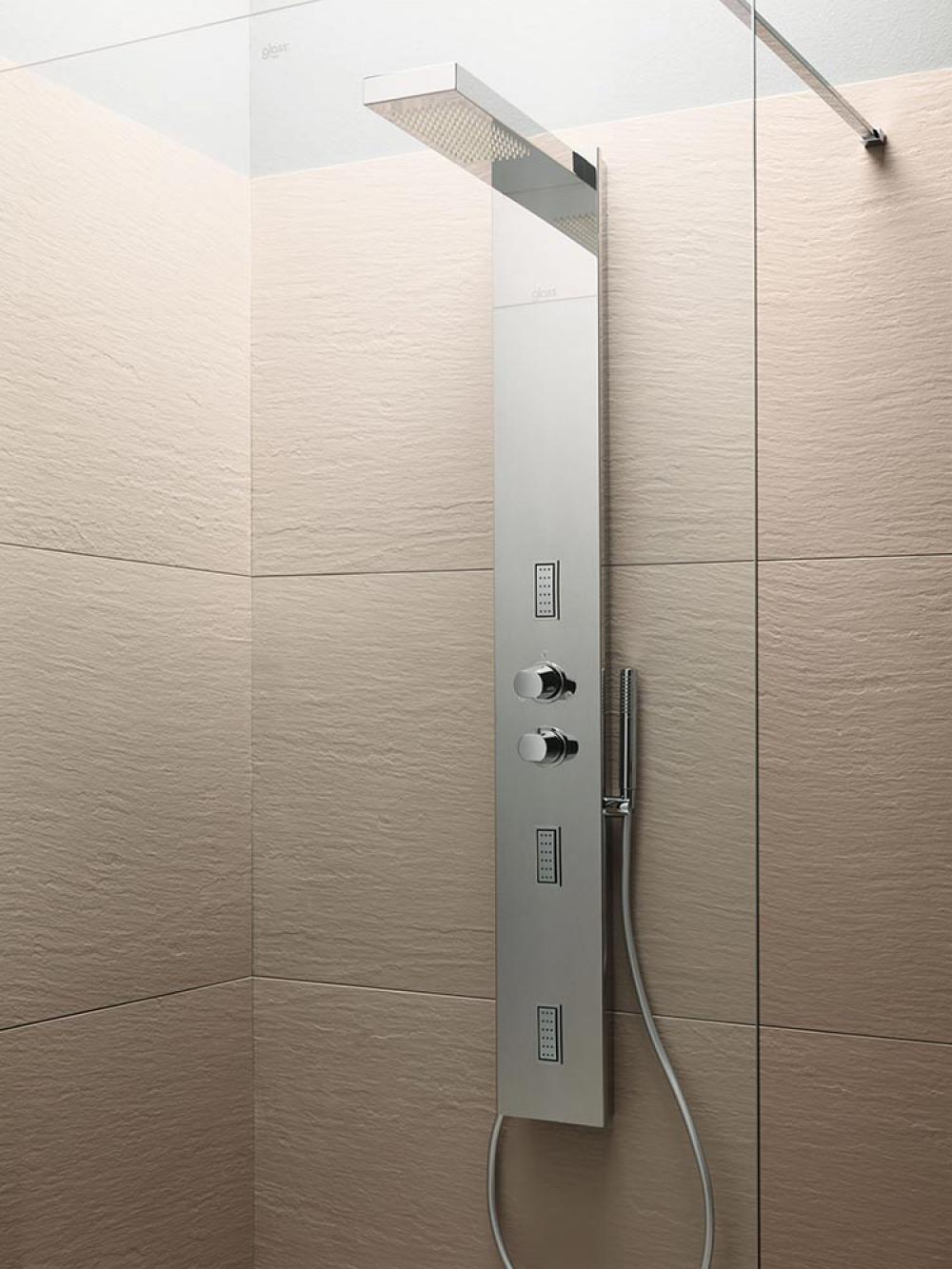 Razor wall pannelli di rivestimento murale in mineralite for Pannelli rivestimento doccia