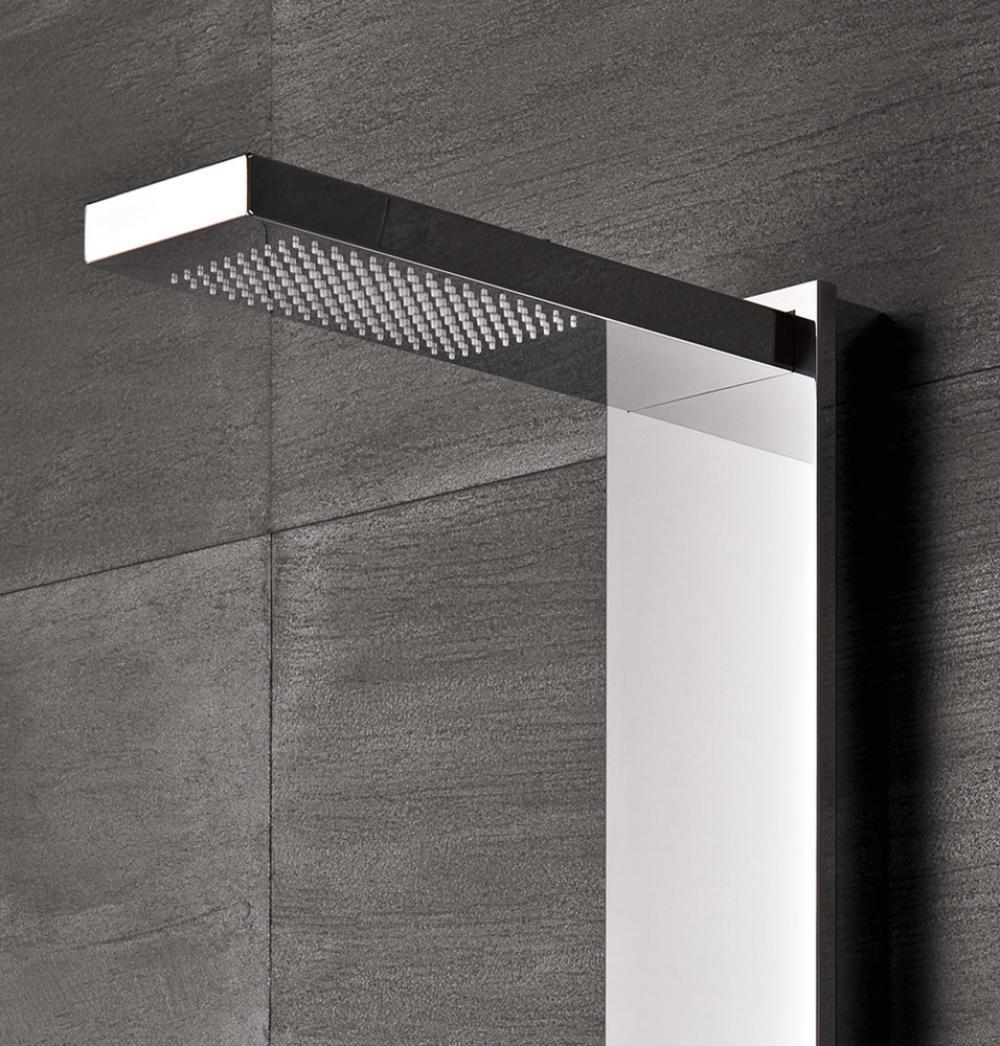 Flair pannello doccia con soffione integrato - Pannelli Doccia GLASS ...