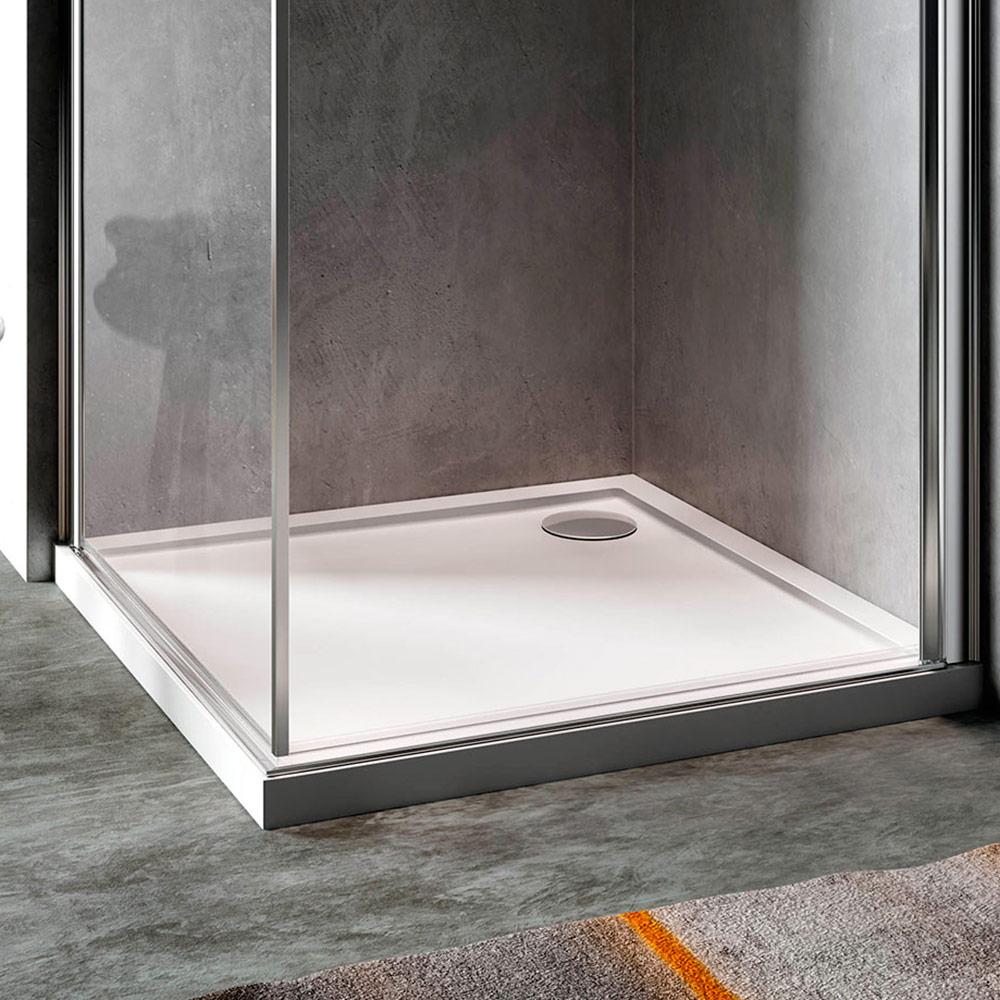 Cinco piatto doccia in acrilico rinforzato piatti doccia for Pannelli rivestimento doccia