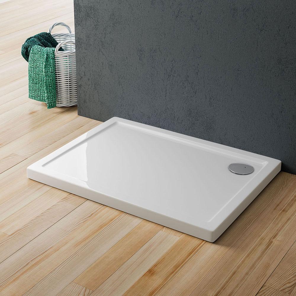Cinco piatto doccia in acrilico rinforzato piatti doccia e pannelli di rivestimento murale - Rivestire piatto doccia ...