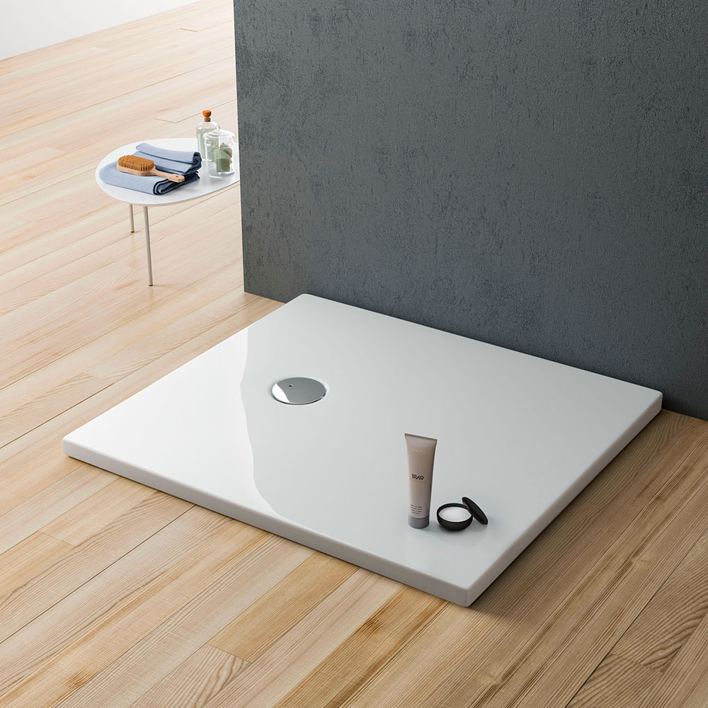 Planor piatto doccia extra piatto in acrilico rinforzato piatti doccia e pannelli di - Grandezza piatto doccia ...