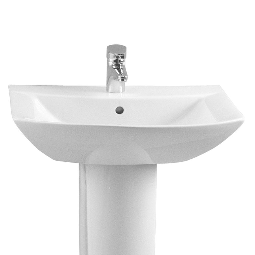 Nuova lavabo cm65 lavabo con semicolonna sanitari outlet for Sanitari outlet