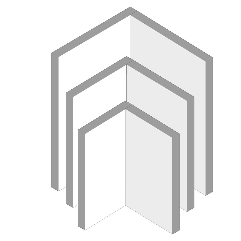 pannelli di coibentazione Glass1989 Hammam strutture rivestibili