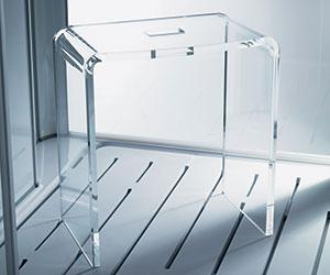 Seggiolino Glass1989 Hammam sedute